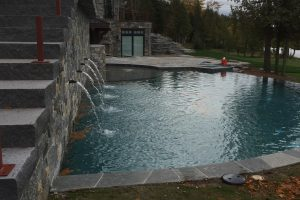 custom pool installation