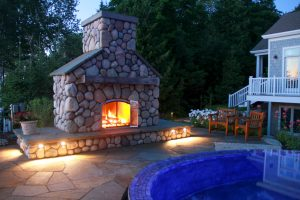 outdoor fireplace and landscape lighting experts - Drost