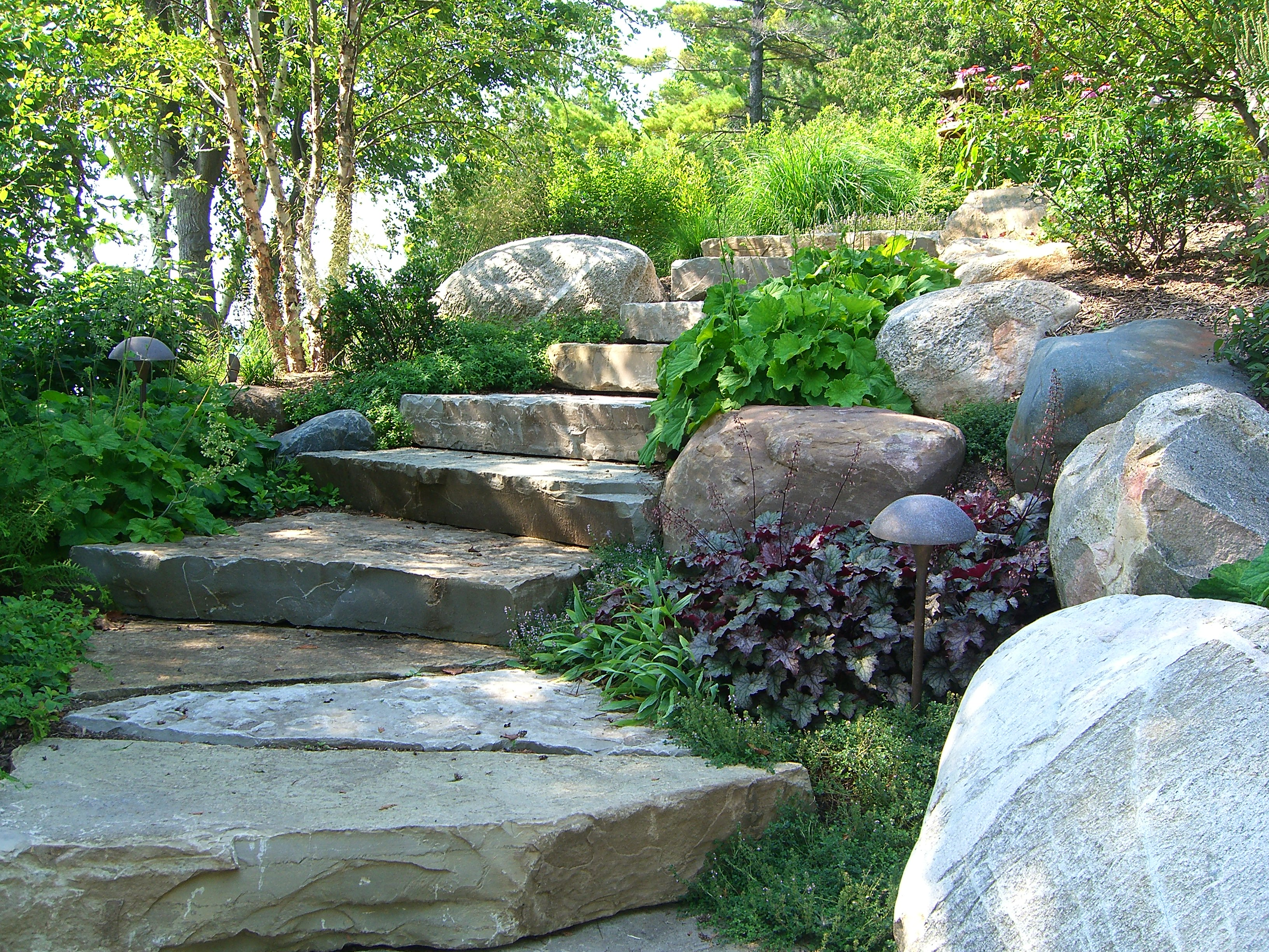 beautiful landscaping by Drost