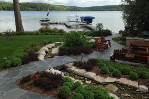 lake property landscaping
