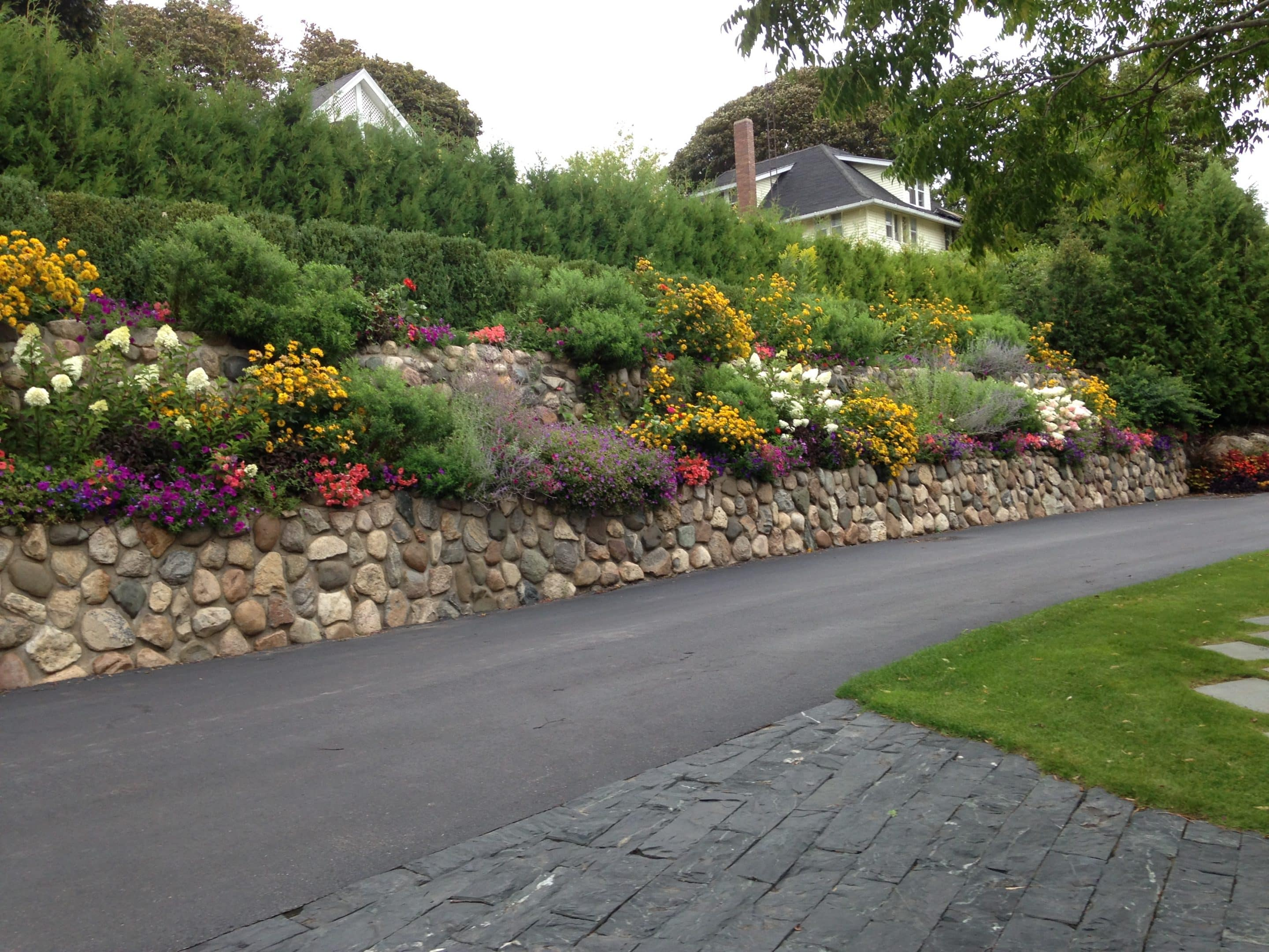 the most beautiful retaining walls include landscape design
