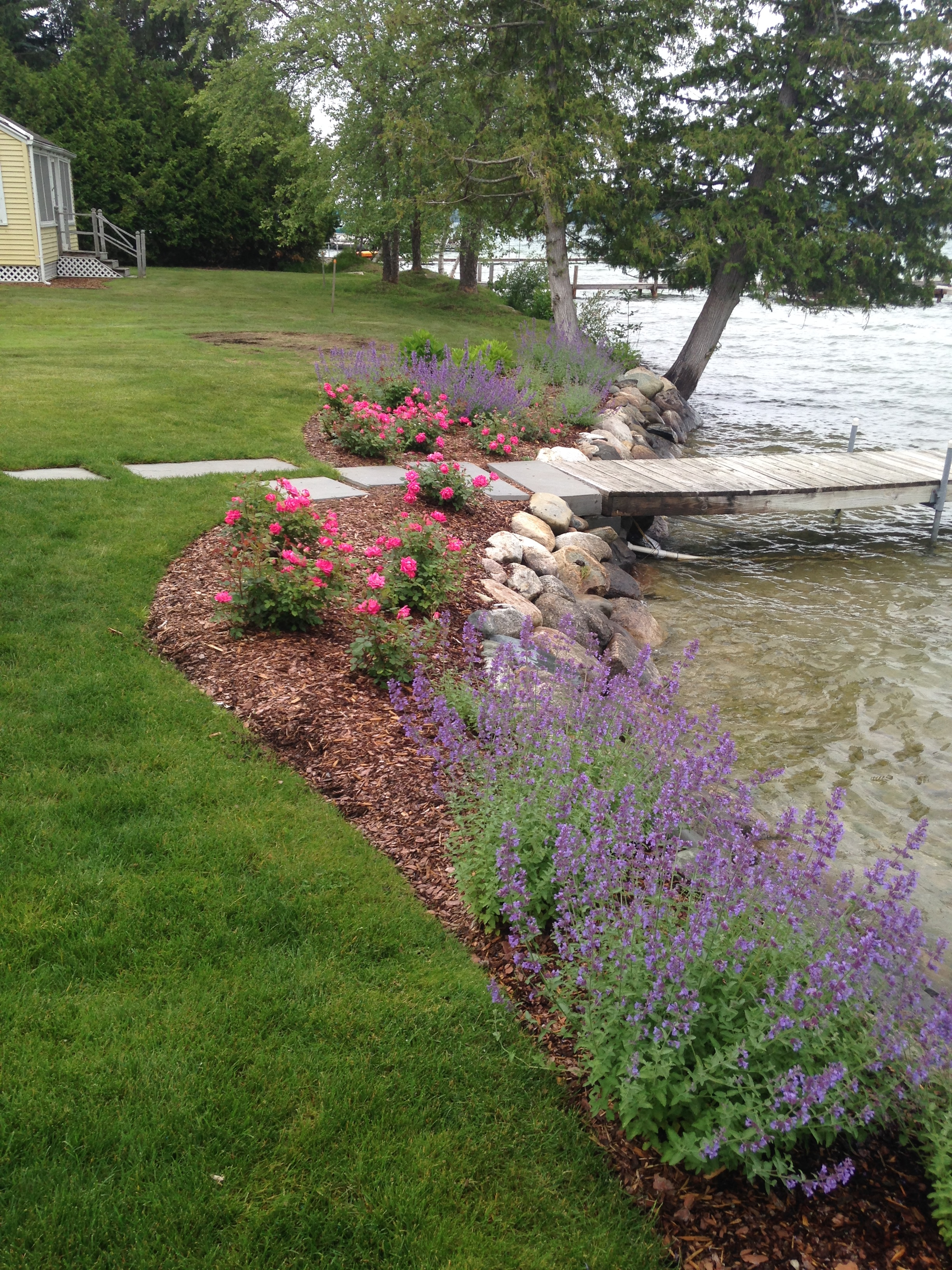 shoreline protection that's functional and beautiful
