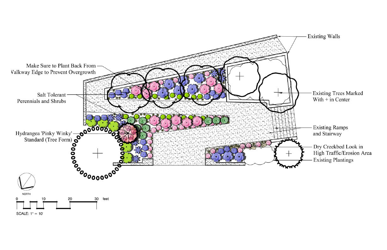 Drost landscape design example