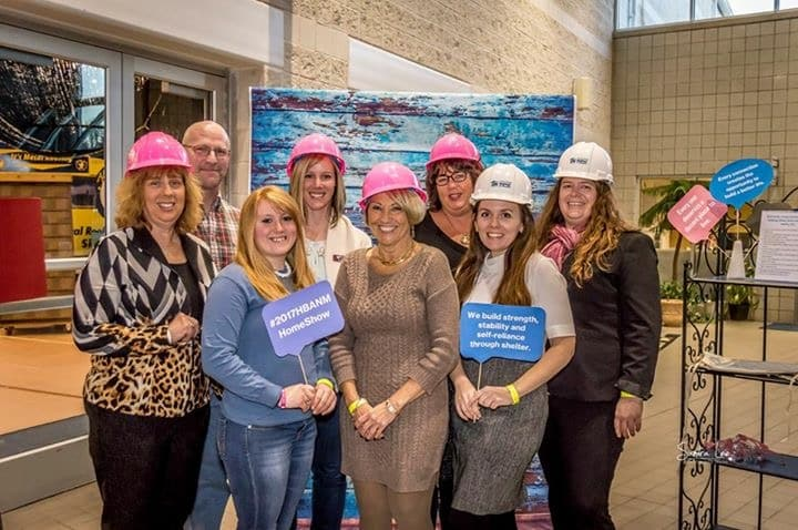 Ladies at the 2017 HBA home show