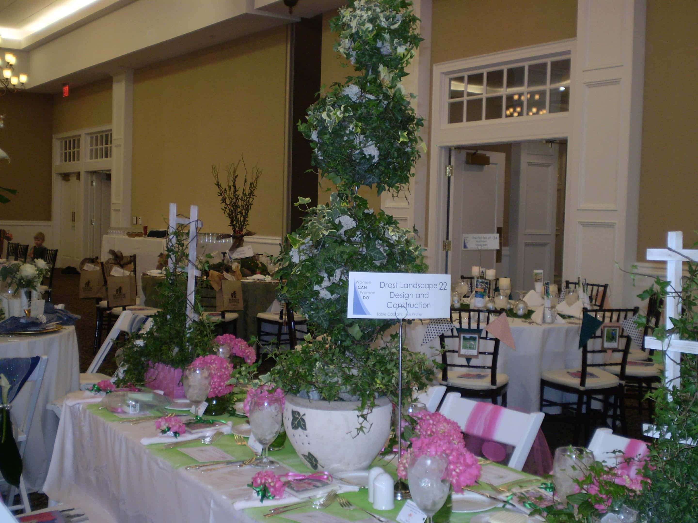 arbor table display