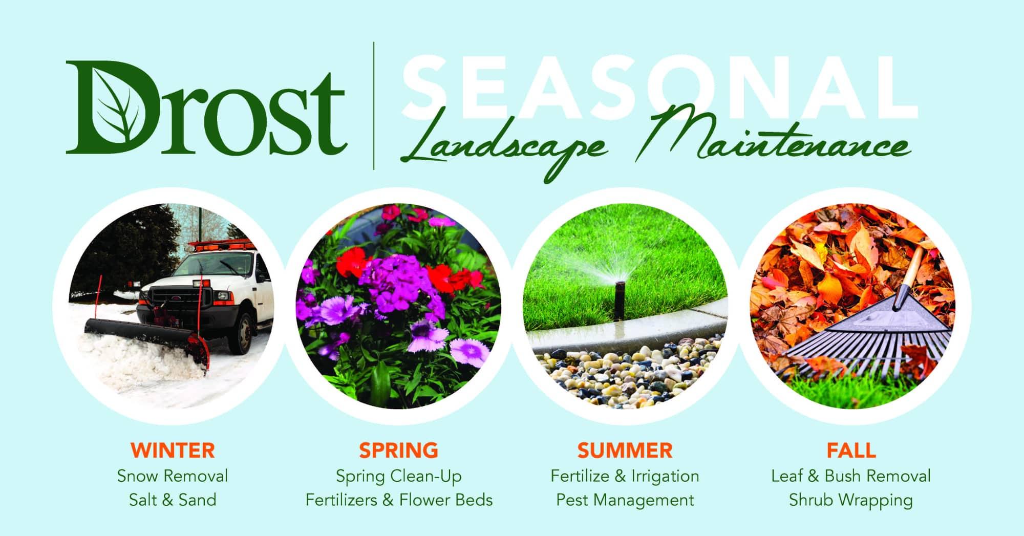 Seasonal Landscape Maintenance Featured image