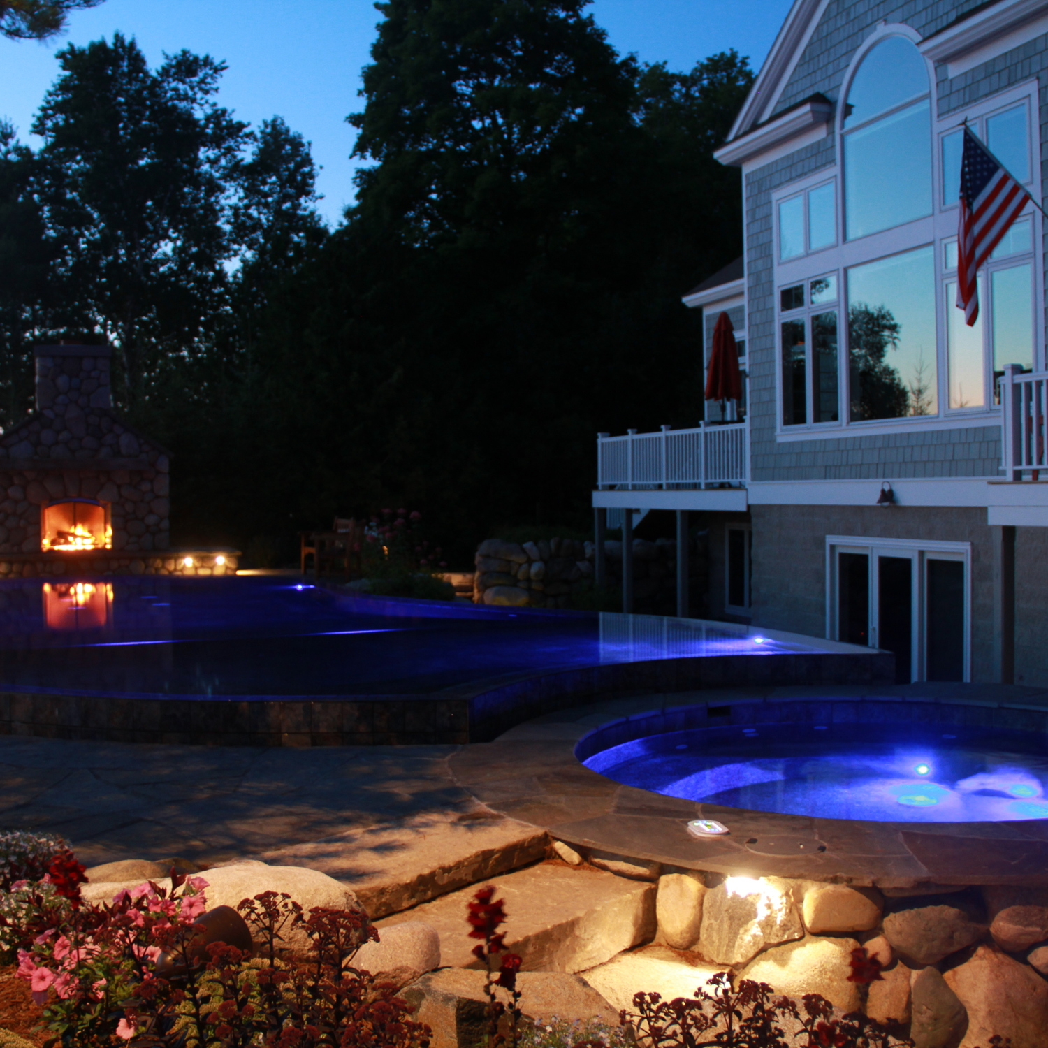 pools, spas, shoreline, fountains, ponds - lighting