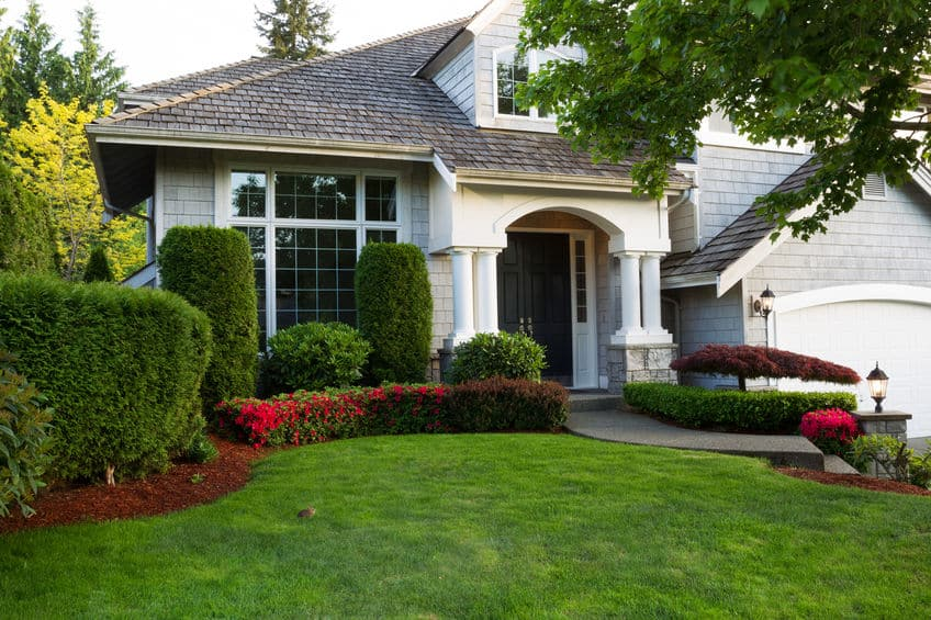 landscape home value - home exterior